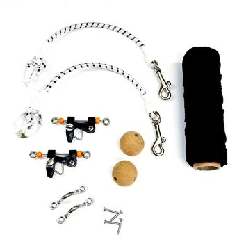 Tigress Economy Rigging Kit - Black Nylon [88600-1]