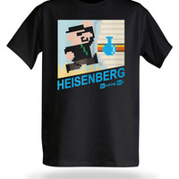 Breaking Bad 8-Bit T-Shirt - Black,