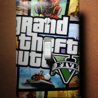 Grand Theft Auto 5  gta GTA5 Light Switch Plate Cover gamer room home decor comic book gaming Sony PS4 PS3 Xbox Nintendo Wii U