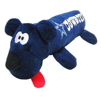 PEAPB5F Dallas Cowboys Plush Tube Pet Toy