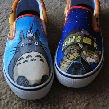 Custom Shoes: My Neighbor Totoro