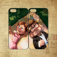 Carl and Ellie couple case,samsung S3 case,samsung S4 case,note 2 case,ipod 4 case,ipod 5 case,iphone 4 case,iphone 5 case,Any two can match