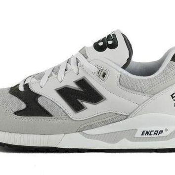 CREYONV new balance for women w530caa white light grey and charcoal sneaker