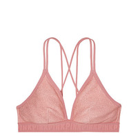 Shine Triangle Bralette - PINK - Victoria's Secret