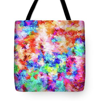 Cheer Up Colorful Abstract Tote Bag