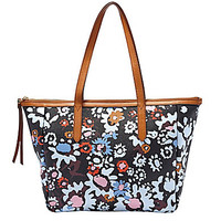 Fossil Sydney Floral Print Shopper Tote