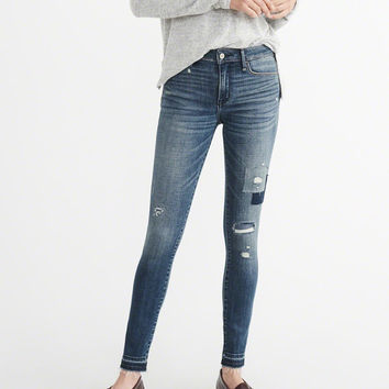 Womens Low-Rise Super Skinny | Womens Bottoms | Abercrombie.com
