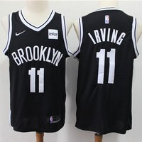 Men's Brooklyn Nets Kyrie Irving Nike Black Swingman Jersey - Best Deal Online