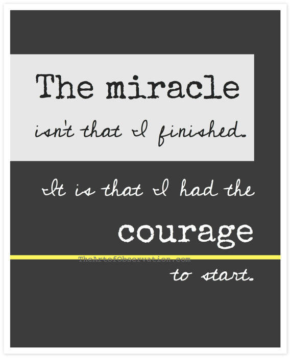 inspirational quotes running print from