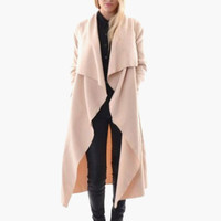 Lapel Long Cardigan