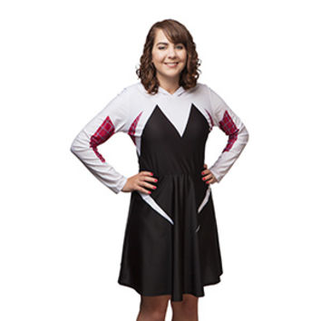 I Am Spider-Gwen Hooded Dress - Exclusive