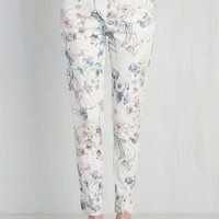 Situationally Savvy Pants in Wildflower | Mod Retro Vintage Jackets | ModCloth.com