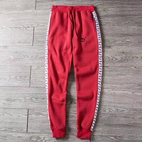 PUMA Woman Men Cashmere Fashion Pants Trousers