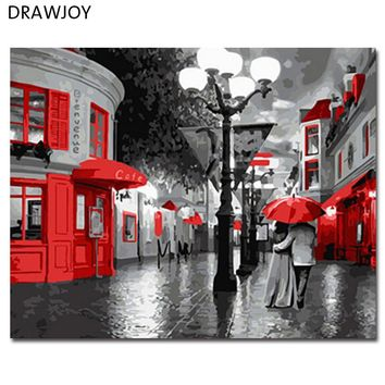 Framed Wall Pictures DIY Oil Painting By Numbers Wall Art Acrylic Oil Canvas Paintings Home Decor For Living Room GX8279