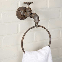 CTW Home Collection - Water Spigot Towel Ring