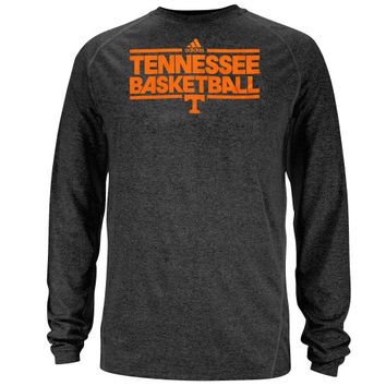 Tennessee Volunteers adidas On-Court Practice Long Sleeve ClimaLite T-Shirt – Black