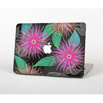 The Bright Colorful Flower Sprouts Skin for the Apple MacBook Pro 13""