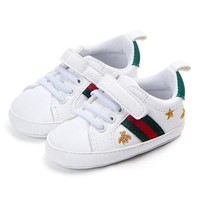 Fashion Gucci Trainers Hook-and-loop Infant Soft Sole Sneakers
