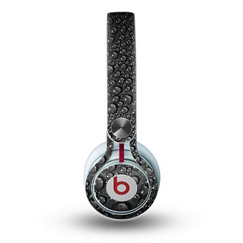 The Black Rain Drops Skin for the Beats by Dre Mixr Headphones