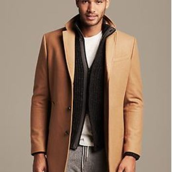 Camel Wool Topcoat