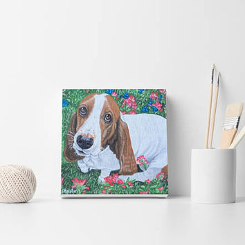 Pet painting Custom portrait Dog painting Custom dog painting Pet wall decor From photo Custom dog order Custom cat order  Dog lovers gift