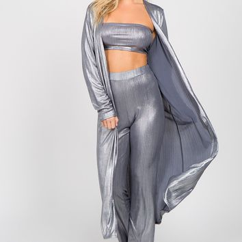 Silver Surfer Matching Pant Set