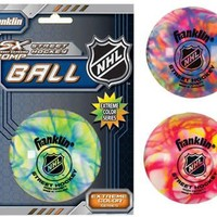 Franklin NHL Extreme Color High Density Street Hockey Ball - Pack of 15