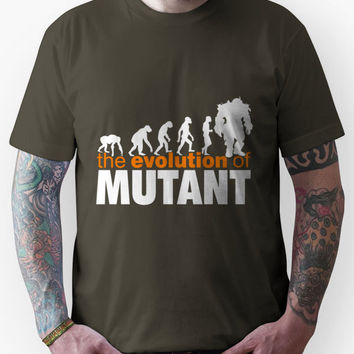 Fallout 3 / New Vegas - The Evolution of Mutant Unisex T-Shirt