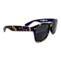 Maryland Full Flag Pattern (Purple & Gold) / Shades