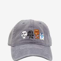 Star Wars 8-Bit Characters Dad Cap