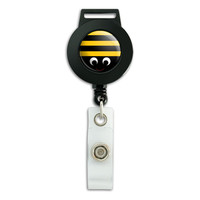 Bumble Bee Party Girl Birthday Retractable Badge Card ID Holder