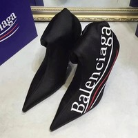 Balenciaga Women Fashion Casual Heels Shoes Boots Shoes-10