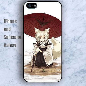 Fox Monster colorful iPhone 5/5S Ipod touch Silicone Rubber Case, Phone cover