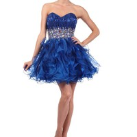 Juliet Dresses Women's Short Prom Gown
