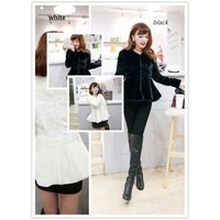 Clearance : faux fur winter jacket coat casual elegant final clearance GHL0007
