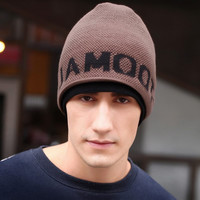 Warm Winter Knitted Wool Beanie