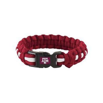 Licensed Texas A&M Aggies Official NCAA 9 Feet Survivor Bracelet by Wincraft 843951 KO_19_1