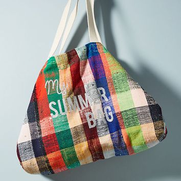 Summer Blanket Tote Bag