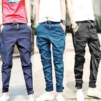 CREYUG3 Mens Harem Pants  Tapered Drop Crotch Cuffed Jogger Casual Trousers  SV004023 = 1904265092