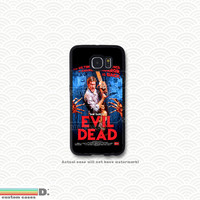 Evil Dead Movie Poster, Custom Phone Case for Galaxy S4, S5, S6