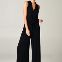 Sunday Funday Jumpsuit - Black - Hazel & Olive