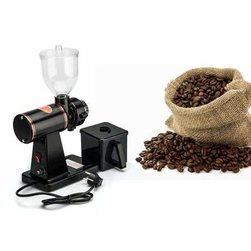 Electric Coffee Bean Grinder 150W 1 Litre Bean Capacity 16 Grinding Levels Classic Black Design