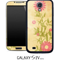 Vintage Sunflower Skin for the Samsung Galaxy S4, S3, S2, Galaxy Note 1 or 2