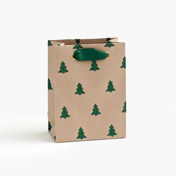 Green Glitter Tree Small Bag