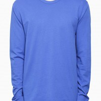 Long sleeve tee from F/W2015-16 T by Alexander Wang collection in light blue