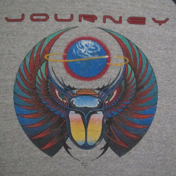 Original JOURNEY vintage 1981 tour TSHIRT