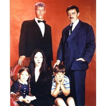 Addams Family, The poster Metal Sign Wall Art 8in x 12in