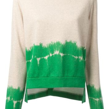 Stella McCartney dipped tie-dye sweater