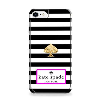 Kate Spade Black White Strip iPhone 6 Plus | iPhone 6S Plus Case
