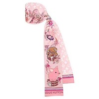LV 2019 new women's versatile fashion multi-purpose small scarf #4